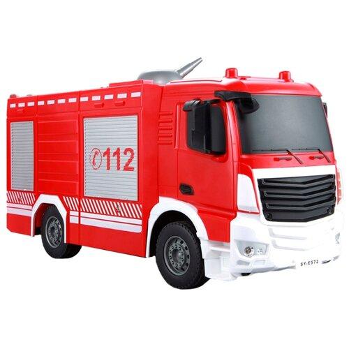 Купить Пожарный автомобиль Double Eagle E572-003 1:26 30 см красный/белый, Радиоуправляемые игрушки