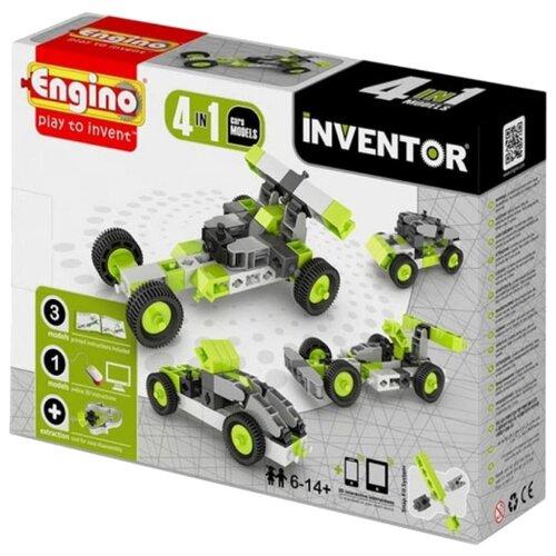 цена на Конструктор ENGINO Inventor (Pico Builds) 0431 Автомобили