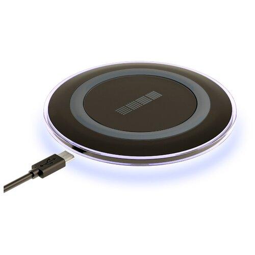 Беспроводная сетевая зарядка INTERSTEP IS-TC-QICHRNDBK-000B201 черный сетевое зарядное устройство interstep is tc micro2krt 000b201 кабель microusb 2а черный