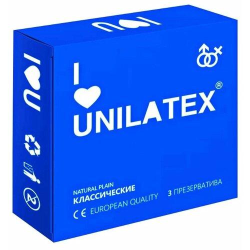 Купить Презервативы Unilatex Natural Plain (3 шт.)