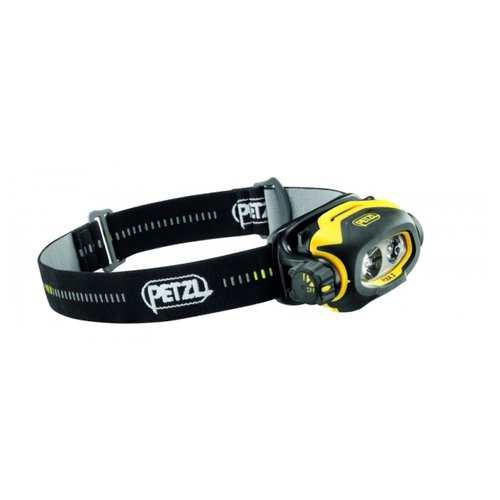 Налобный фонарь Petzl Pixa 3 черный/желтый крюк скальный petzl petzl v conique 11 см 11cm