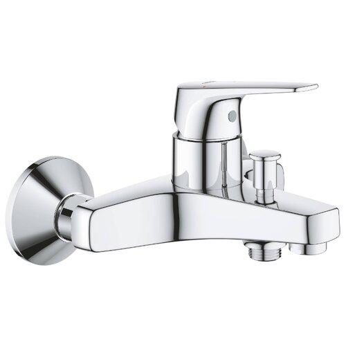 Смеситель для ванны с подключением душа Grohe BauFlow 23601000 однорычажный смеситель для ванны с подключением душа grohe bauclassic 32865000 однорычажный