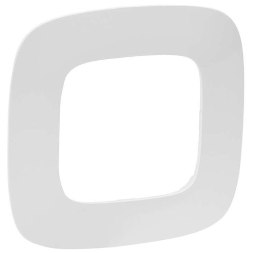 Рамка 1п Legrand Valena Allure 754301, белыйРозетки, выключатели и рамки<br>