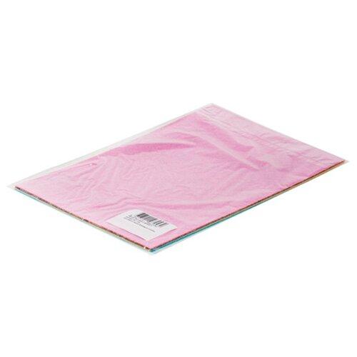 Feltrica Набор Фетр Листовой 1 мм А4 (розовый, серый, бежевый, голубой)