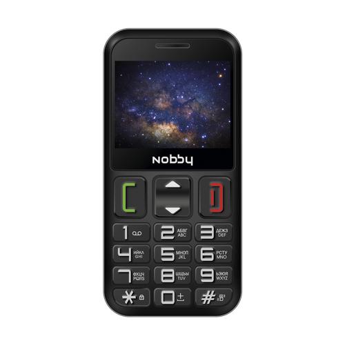 Телефон Nobby 240B черный / серый (NBP-SP-24-02)