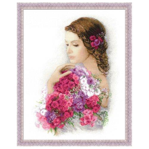 Купить Риолис Набор для вышивания Premium Очарование лета 35 х 45 см (100/036), Наборы для вышивания