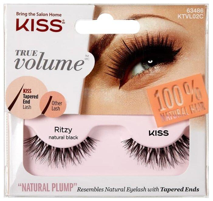 Kiss накладные ресницы True Volume Ritzy