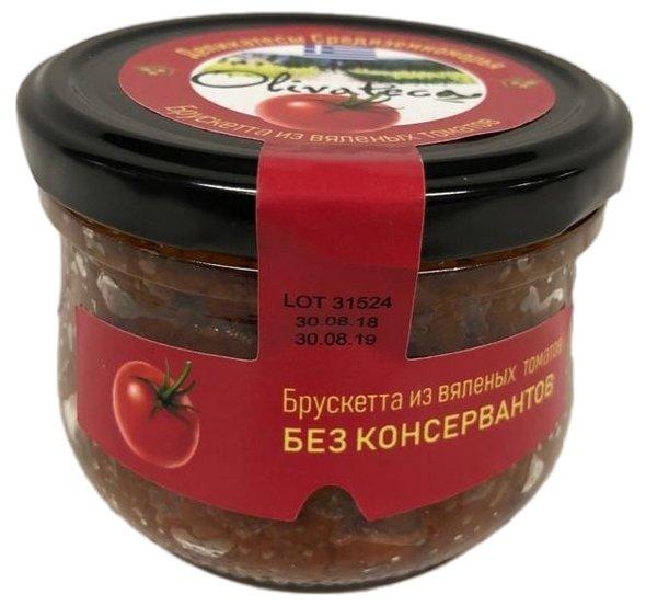 Брускетта из вяленых томатов OLIVATECA, 200 г
