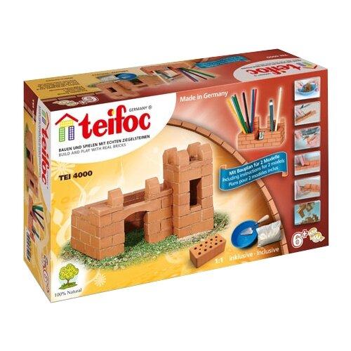 Купить Конструктор TEIFOC Junior TEI4000 Крепость и карандашница, Конструкторы