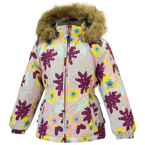 Куртка Huppa Marii 17830030 размер 110, 81928 light gray pattern куртка huppa isla 17820020 размер 116 73320 white pattern gray