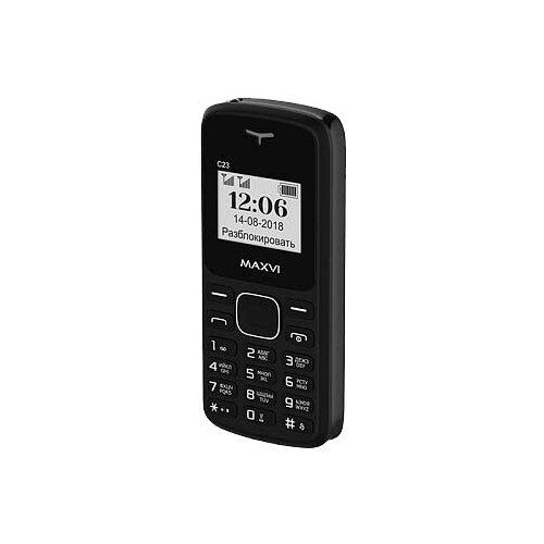 Телефон MAXVI C23 черный