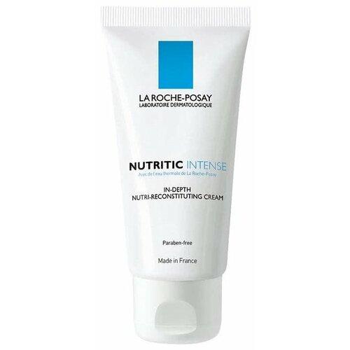 La Roche-Posay Nutritic Intense Питательный крем для лица для глубокого восстановления кожи, 50 мл la roche posay крем для очень сухой кожи nutritic intense riche 50 мл