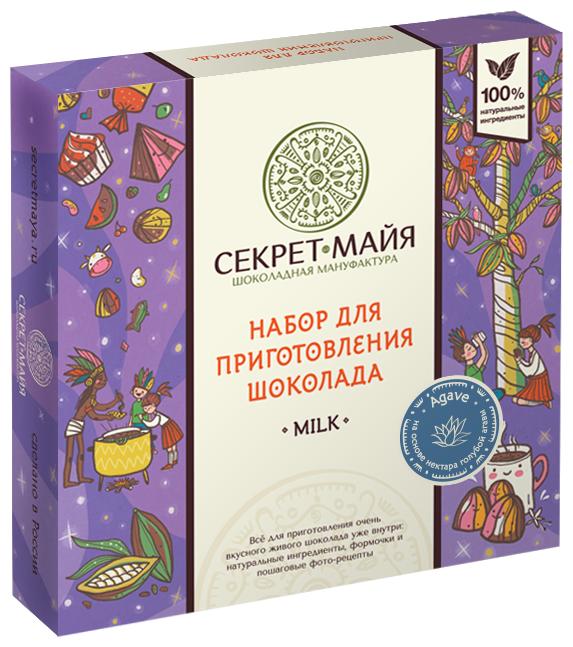 Набор для приготовления шоколада Секрет Майа Milk Agave 365 г