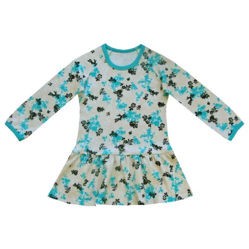 Платье ПАНДА дети размер 92, молочныйПлатья и юбки<br>