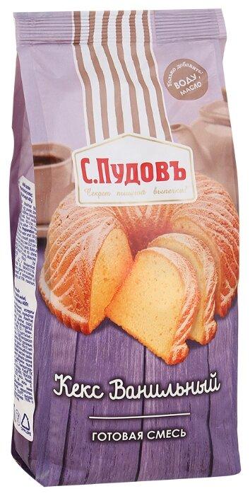С.Пудовъ Мучная смесь Кекс ванильный, 0.4 кг