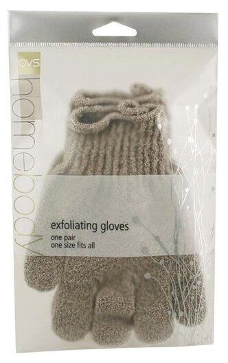 Мочалка Qvs Перчатки отшелушивающие синтетические