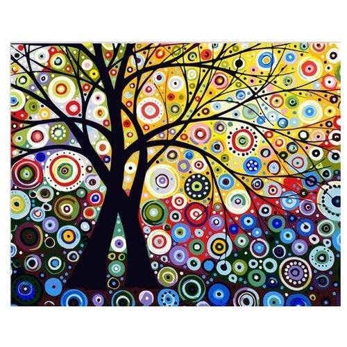 """Цветной Картина по номерам """"Райский сад"""" 40х50 см (GX6962)"""