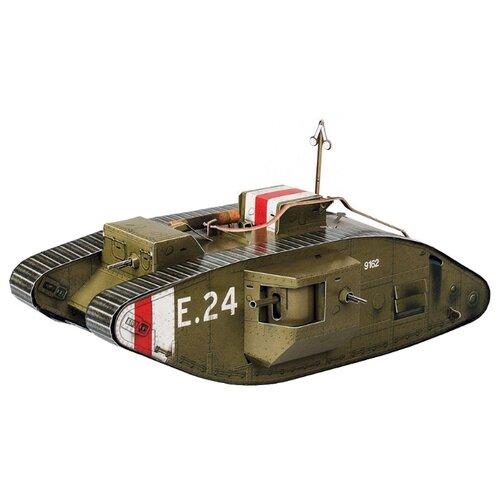Сборная модель Умная Бумага Танк Mark-V (364-1) 1:35
