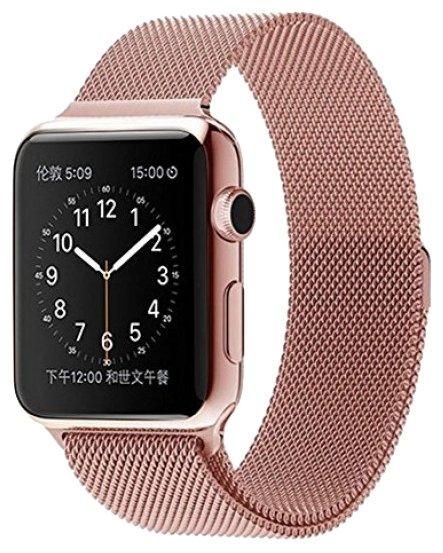 Lemon Tree Ремешок для Apple Watch (milano, металлический браслет, магнитная застежка, 42 мм)