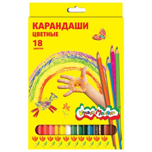 Каляка-Маляка Карандаши цветные 18 цветов (ККМ18)