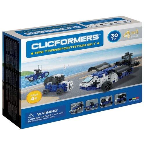 цена Магнитный конструктор Magformers Clicformers 804002 Mini Transportation Set онлайн в 2017 году