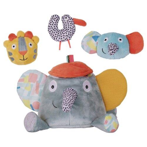 Набор мягких игрушек Ebulobo Слонёнок Зигги и его друзья 20 см