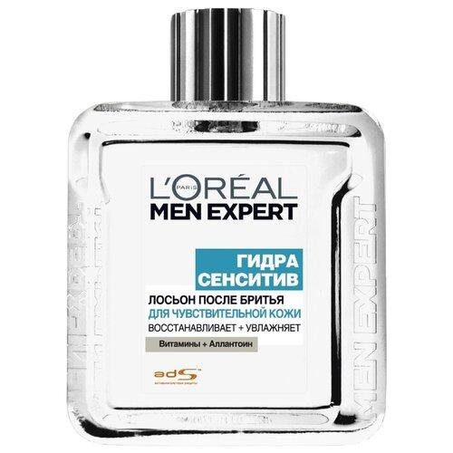 Лосьон после бритья Гидра Сенситив для чувствительной кожи L'Oreal Paris, 100 мл ducray неоптид лосьон от выпадения волос для мужчин 100 мл