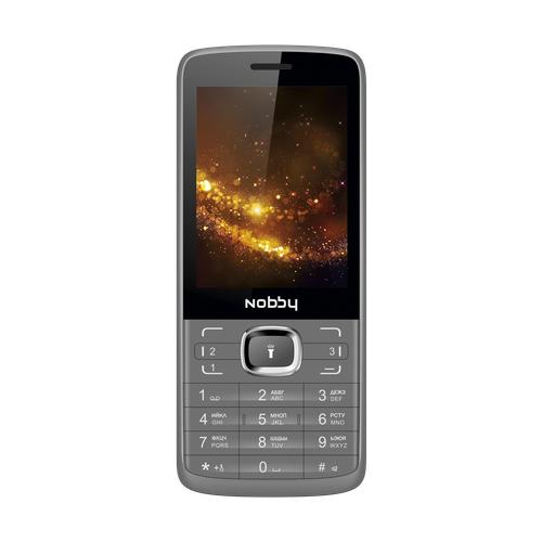 Купить Телефон Nobby 330T серый / черный (NBP-BP-28-11)