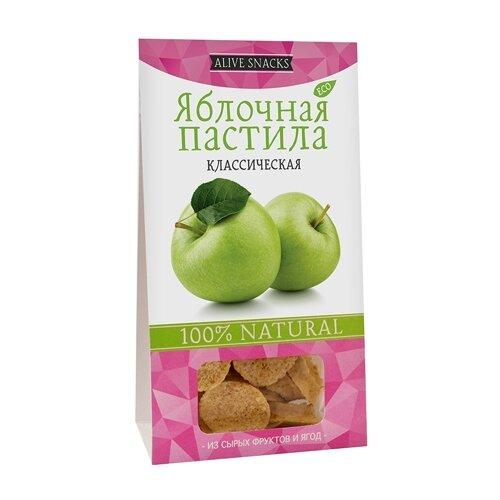 Пастила Живые снеки яблочная классическая 35 г