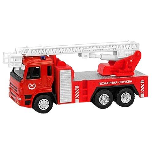 Пожарный автомобиль Автопанорама 1200091 1:54 красный/белыйМашинки и техника<br>