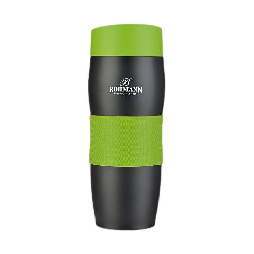 Термокружка Bohmann BH-4457, 0.375 л зеленый