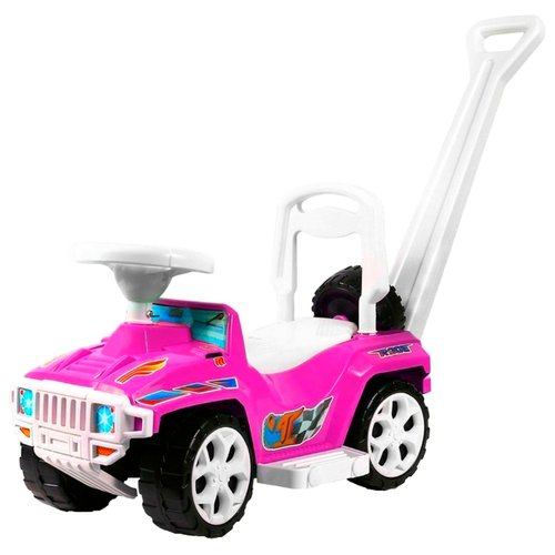 Купить Каталка-толокар RT Race Mini Formula 1 ОР856 (5307 / 5308) со звуковыми эффектами розовый, Каталки и качалки