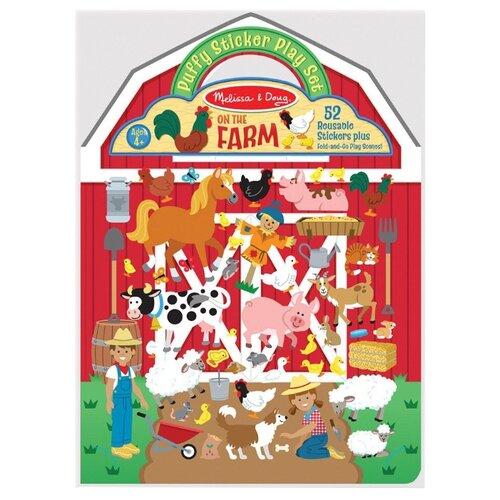 Купить Книжка с наклейками Ферма (9408), Melissa & Doug, Книжки с наклейками