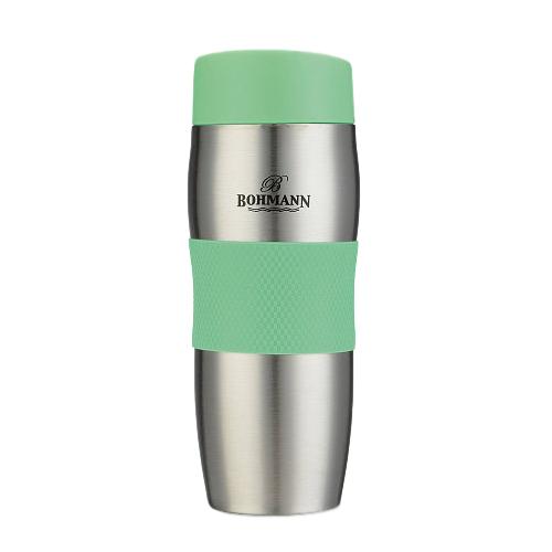 Термокружка Bohmann ВН-4456, 0.375 л зеленый