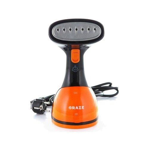 Отпариватель MIE Graze, черный/оранжевый