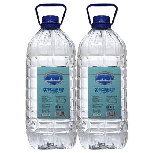 Минеральная вода Серафимов Дар негазированная, ПЭТ, 2 шт. по 5 л истэль вода талая негазированная 12 шт по 0 5 л