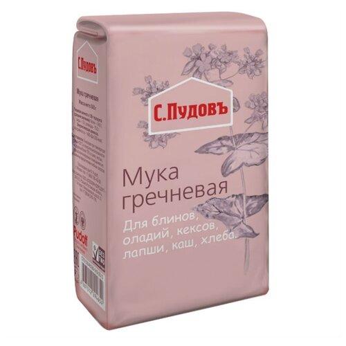 Мука С.Пудовъ гречневая, 0.5 кгМука из других злаков<br>