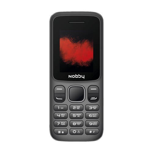Телефон Nobby 100 серый / черный (NBP-BP-18-03)