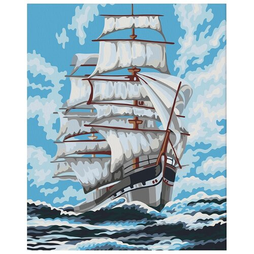 Мосфа Картина по номерам Попутный ветер 40х50 см (7С-0196) картина розовый ветер olga glazunova картина розовый ветер