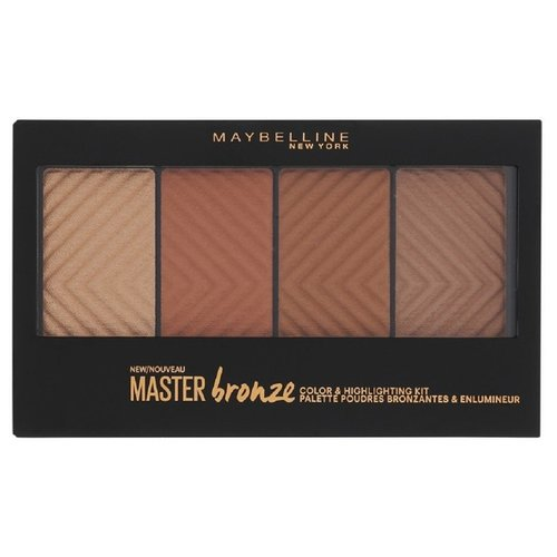 Maybelline New York Палетка для контурирования лица Master Bronze 20, бронза maybelline master holographic