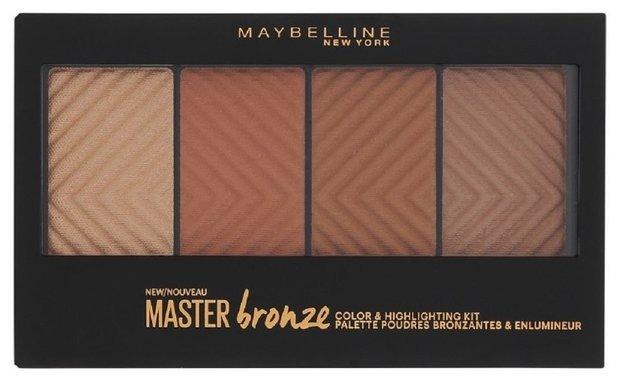 Maybelline Палетка для контурирования лица Master Bronze