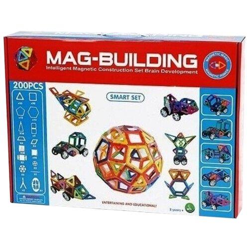 Купить Магнитный конструктор Mag-Building GB-W200 Smart Set, Конструкторы