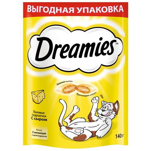 Лакомство для кошек Dreamies с сыром, 140гЛакомства для кошек<br>