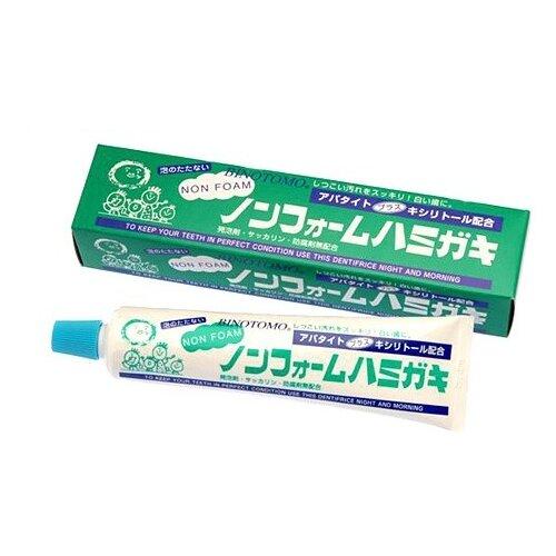 Зубная паста Fudo Kagaku Binotomo непенящаяся отбеливающая для защиты от кариеса и зубного камня, 130 г