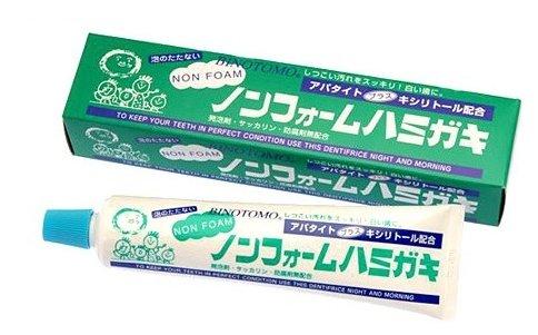 Зубная паста Fudo Kagaku Binotomo непенящаяся отбеливающая