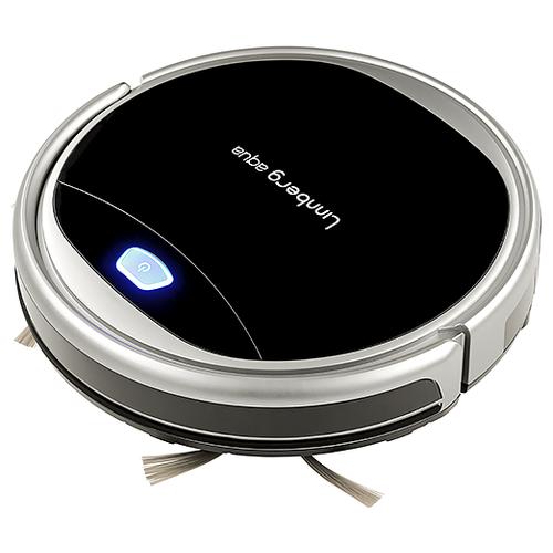 Робот-пылесос LINNBERG Aqua черный/серебристый