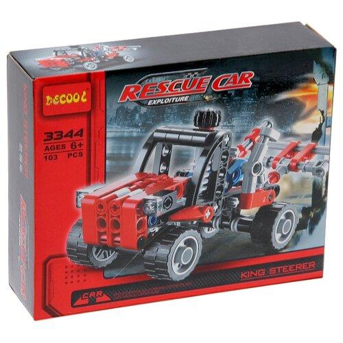 Конструктор Jisi bricks (Decool) Technic 3344 Эвакуатор