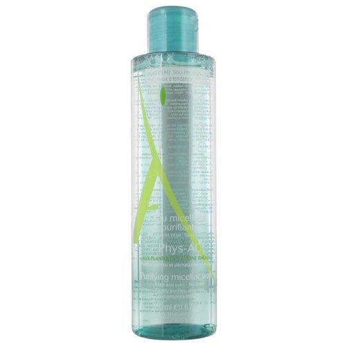 A-Derma Phys-AC Очищающая мицеллярная вода Eau Micellaire Purifiante, 200 мл очищающая вода урьяж