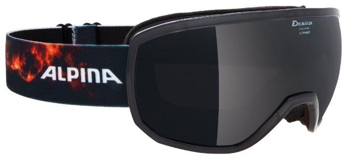 Горнолыжные очки Alpina Scarabeo mm Sph. (Cc) Translucent Blue mm Black S3/mm Black S3