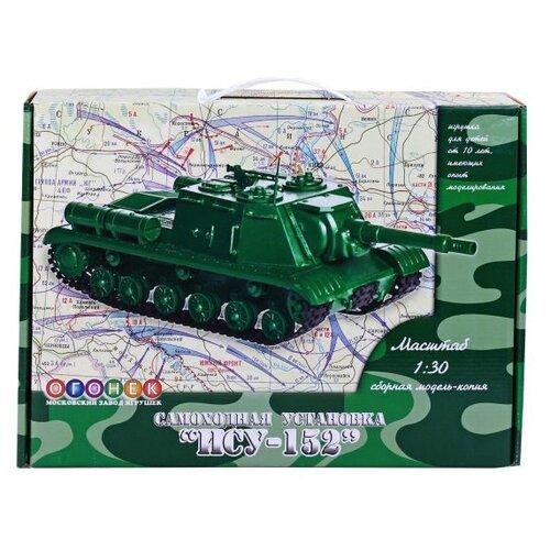 Купить Сборная модель ОГОНЁК Самоходная установка ИСУ-152 (С-40) 1:30, Сборные модели